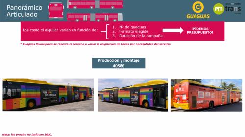 Bus Panorámico Articulado
