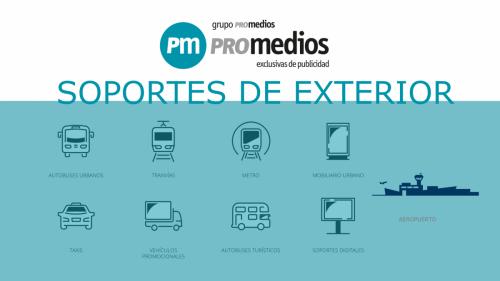 Referente nacional en la gestión de exclusivas publicitarias en medios de transporte y mobiliario urbano.