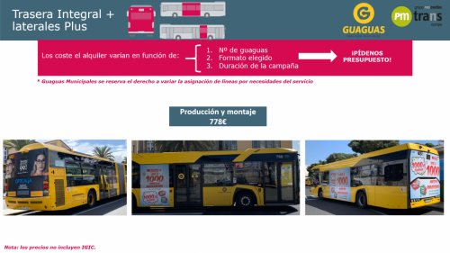 Bus Trasera Integral + laterales Plus