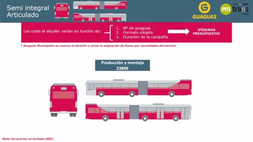 Bus Semi Integral Articulado