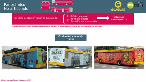 Bus Panorámico No Articulado