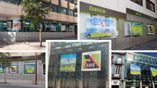 Bankia- Producción y montaje varias islas.
