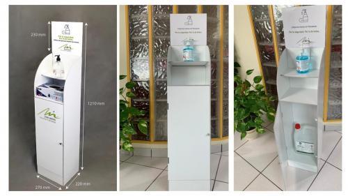 Mueble dosificador de gel- Desde 154€