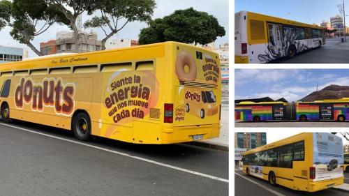 Publicidad en Guaguas Municipales